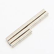 Juguetes Magnéticos Bloques de Construcción Imán de Neodimio Imanes magnéticos superfuertes 100pcs 3.5*1mm Magnético Magnética Cilíndrico