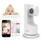 ibcam trådløse hjemme ip nettverk wifi sikkerhet kamera for baby med p2p musikk spille toveis talk