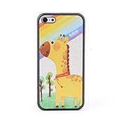 caso trasero protector estilo jirafa para 5c iphone