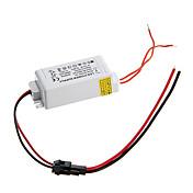 zdm 0.3a 4-7w dc 10-25v til AC 85-265v ekstern konstant strømforsyningsdriver for leddpanellampe
