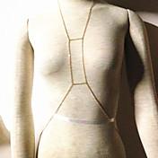 aleación de oro europeo mujeres bikini cadena cadenas carrocería (70cm * 5cm * 5cm) (1 pc)