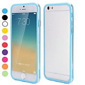 Para Funda iPhone 6 / Funda iPhone 6 Plus Transparente Funda Acolchada Funda Un Color Suave TPU iPhone 6s Plus/6 Plus / iPhone 6s/6