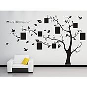 Botanisk Veggklistremerker Fly vægklistermærker Dekorative Mur Klistermærker, Vinyl Hjem Dekor Veggoverføringsbilde Vegg