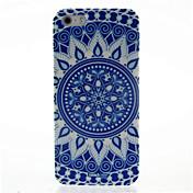 Modelo azul y blanco de la porcelana dura del caso para iPhone4/4S