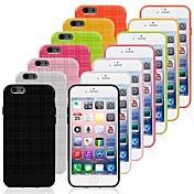 caso del patrón a cuadros tpu para el iphone 6 (colores surtidos)