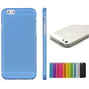 color sólido tpu funda blanda para iphone 4 / 4s (colores surtidos) fundas iphone