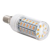 4W 360 lm E14 E26/E27 LED-kornpærer 48 leds SMD 5730 Varm hvit Kjølig hvit AC 220-240V