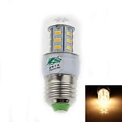E26/E27 LED 콘 조명 T 24 LED가 SMD 3528 장식 따뜻한 화이트 500lm 3000K AC 85-265V