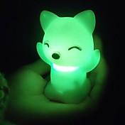 Luz nocturna 3D Impermeable Batería CLORURO DE POLIVINILO 1 Luz Baterías Incluidas 7.0*7.0*6.0cm