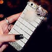 pegar taladro tapa de plástico patrón para el iphone 6