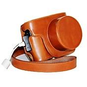 pajiatu® funda protectora de piel para cámara retro PU con el puerto de carga para Canon PowerShot G1X marca ii G1X m2