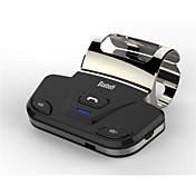 volante bluetooth kit de coche de apoyo altavoz bluetooth manos libres de conexión en el coche 2 teléfonos