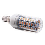 4W E14 LED 콘 조명 T 56 LED가 SMD 5730 따뜻한 화이트 350-400lm 3000-3500K AC 220-240V