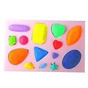 diamantes fondant molde del caramelo pastel choclate hornear en forma, l10.1cm * w7cm * h1cm