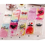 Para Funda iPhone 6 / Funda iPhone 6 Plus Transparente / Diseños Funda Cubierta Trasera Funda Dibujos Suave TPUiPhone 6s Plus/6 Plus /