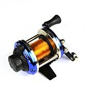 Carrete de la pesca Carretes de lanzamiento 3.6:1 Relación de transmisión Rodamientos de bolas -Manos Pesca de agua dulce