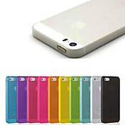 Funda Para iPhone 5 Apple Funda iPhone 5 Ultrafina Funda Trasera Color sólido Dura ordenador personal para iPhone SE/5s iPhone 5