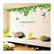 Landskap Dyr Jul Blomster Tegneserie Botanisk Veggklistremerker Animal Wall Stickers Dekorative Mur Klistermærker, Vinyl Hjem Dekor