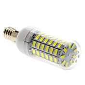 5W 450 lm E14 LED-kornpærer T 69 leds SMD 5730 Naturlig hvit AC 220-240V