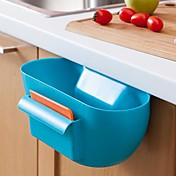 plast kjøkken avfall oppbevaringsboks / kjøkken motta en sak (assortert farge)