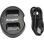 kingma® cargador de batería doble ranura USB para Sony batería np-FW50 para nex-5c nex c3-nex-7 a33 a55 NEX-5N NEX-F3-slt a37 nex-7 cámara