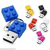 새로운 장난감 벽돌 만화 8 기가 바이트 USB 디스크 USB 2.0 플래시 펜 드라이브