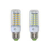 12W E26/E27 LED 콘 조명 T 48 SMD 5730 1152 lm 따뜻한 화이트 / 차가운 화이트 AC 220-240 V 1개