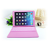 Etui Til iPad Mini 3/2/1 med stativ med tastatur Flipp Heldekkende etui Helfarge Hard PU Leather til