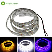 SENCART 1m Tiras LED Flexibles 120 LED Blanco / Azul / Amarillo Cortable / Impermeable 12 V / IP68