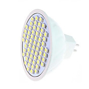 360-750 lm Focos LED MR16 60LED leds SMD 3528 Blanco Cálido Blanco Fresco AC 220-240V