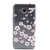 Para Funda Samsung Galaxy Transparente / Diseños Funda Cubierta Trasera Funda Flor TPU Samsung Grand Prime