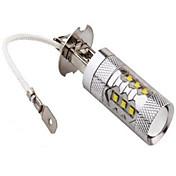 1200 lm H3 Dekorations Lys 14LED LED perler Høyeffekts-LED Dekorativ Kjølig hvit 12 V / 24 V / 1 stk. / RoHs / CCC