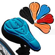 자전거 새들 안장 새들 커버 산악 자전거 도로 자전거 레크 리에이션 사이클 사이클링 실리콘 3D 통기성 블랙 레드 블루 오렌지