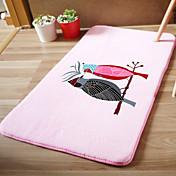 Las alfombras de área Modern 100% Microfibra / Franela, Rectangular Calidad superior Alfombra