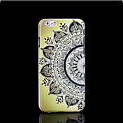 cubierta del patrón de flor mandala azteca para el iphone 6 más caso