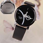 Regalos personalizados Reloj Cuarzo Reloj With Aleación Material de la Caja  PU Banda Reloj de Moda Reloj Casual Profundidad de