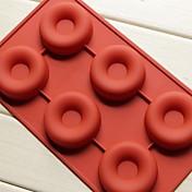 utensilios de cocina jabón jalea budín de decoración cocina molde para muffins donas torta utensilios para hornear de silicona de moda