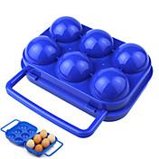 contra acampar aplastamiento cartón de huevos portátil hacer un picnic al aire libre artículos