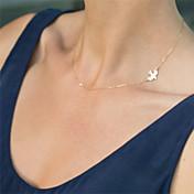 Mujer Gargantillas Collares de cadena Forma de Animal Legierung Diseño Básico Estilo lindo Estilo Simple joyería de disfraz Joyas Para