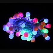 50 LED RGB Oppladbar / Dekorativ 220-240V