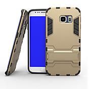 Para Funda Samsung Galaxy Antigolpes Funda Cubierta Trasera Funda Armadura Policarbonato Samsung S6 edge