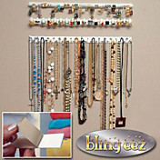 joyas con ganchos / ganchos de pared de la joyería / recibir joyeros 1 set