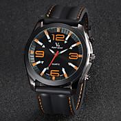V6 Hombre Reloj de Pulsera Cuarzo Cuarzo Japonés Silicona Banda Analógico Negro - Amarillo Rojo Azul Dos año Vida de la Batería / Mitsubishi LR626