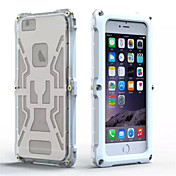 Para Funda iPhone 6 / Funda iPhone 6 Plus Antigolpes / Antipolvo / Impermeable Funda Cuerpo Entero Funda Armadura Dura Policarbonato