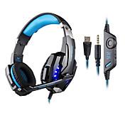 KOTION EACH Over øre / Pannebånd Med ledning Hodetelefoner Plast Gaming øretelefon Med volumkontroll / Med mikrofon / Støyisolerende