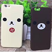 los casos nuevos de marca marea matorral par de osos de 6s iphone 6 más / iphone plus (colores surtidos)