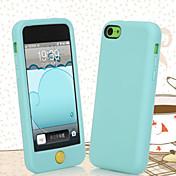 Funda Para iPhone 5C Apple iPhone X iPhone X iPhone 8 Funda Trasera Suave Silicona para iPhone X iPhone 8 Plus iPhone 8 iPhone 5c