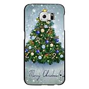 Para Funda Samsung Galaxy Diseños Funda Cubierta Trasera Funda Navidad Policarbonato Samsung S6