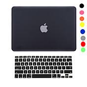 MacBook Funda para Color sólido El plastico MacBook Pro 15 Pulgadas MacBook Pro 13 Pulgadas