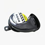 12v cuerno motocicleta caracol mejorado moto ciclomotor agudos bici de la suciedad de sonido del coche 510hz tono de altavoz de bocina de